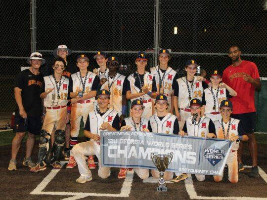 13U Monarchs Win PG World Series!